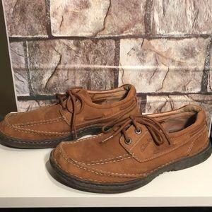 Men's Clark Chestnut colored shoes 7.5